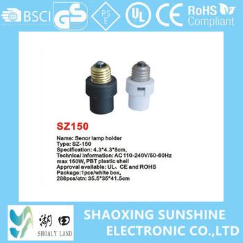 Sensor Light Socket Motion Lamp