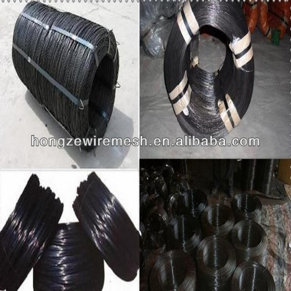 Anping factory wholesale Q 195 18 gauge Black annealed iron wire