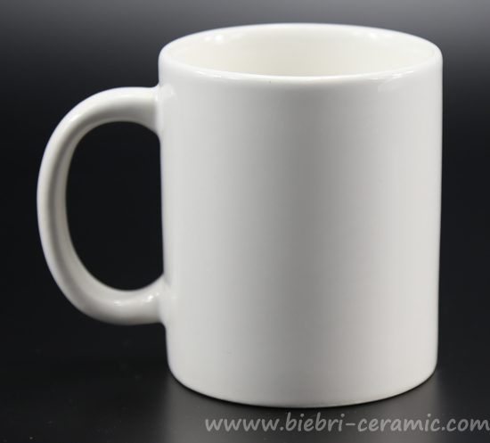 Plain White Custom Design Tea Coffee Ceramic Porcelain Mugs With Handle