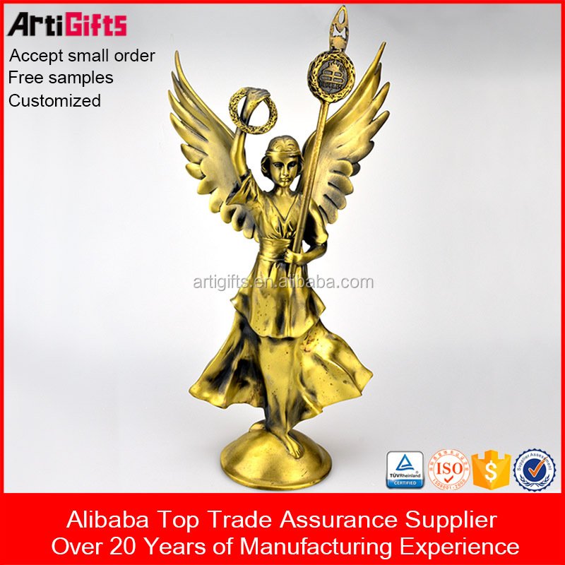 Artigifts productos promocionales al por mayor 3D trofeo de metal figurines