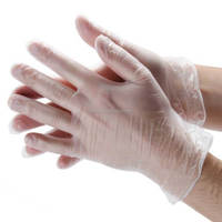 powdered Vinyl exam Gloves surgical gloves medical gloves made in China