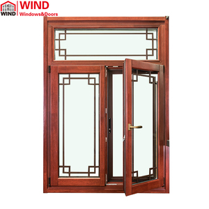 Aluminum wood italia standard window manufacturer