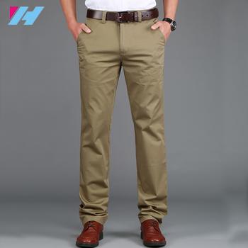 Men S Casual Pants Loose In The Waist Elastic Men S Trousers High