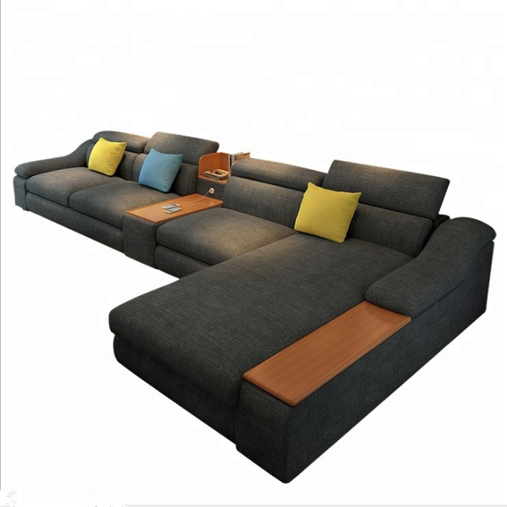 2018 new multi functional intelligent cheap fabric <strong>sofa</strong> for sale
