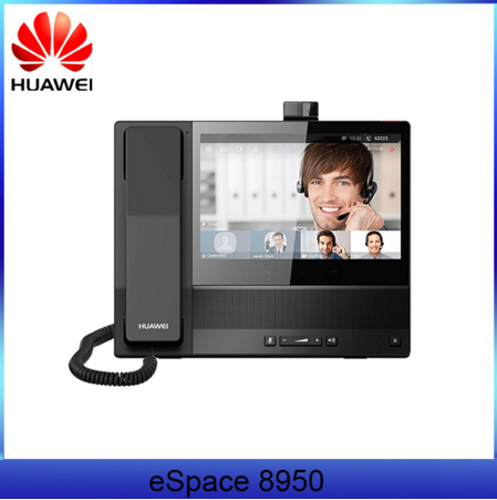 Huawei VOIP Video Phone espace 8950 HD camera Wifi SIP ip phone