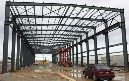 Steel Warehouse Building Construction Projects