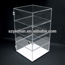 Manufacturing customized acrylic cabinet display large acrylic cabinets