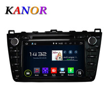Black Android 4.2 Car Audio Stereo For Mazda 6 2008-2012 GPS Satnavi DVD Player Multimedia Radio 8inch Capacitive Touchscreen