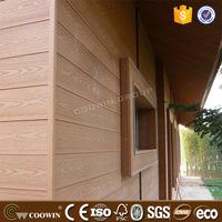 exterior house smoke-proof wpc wall siding