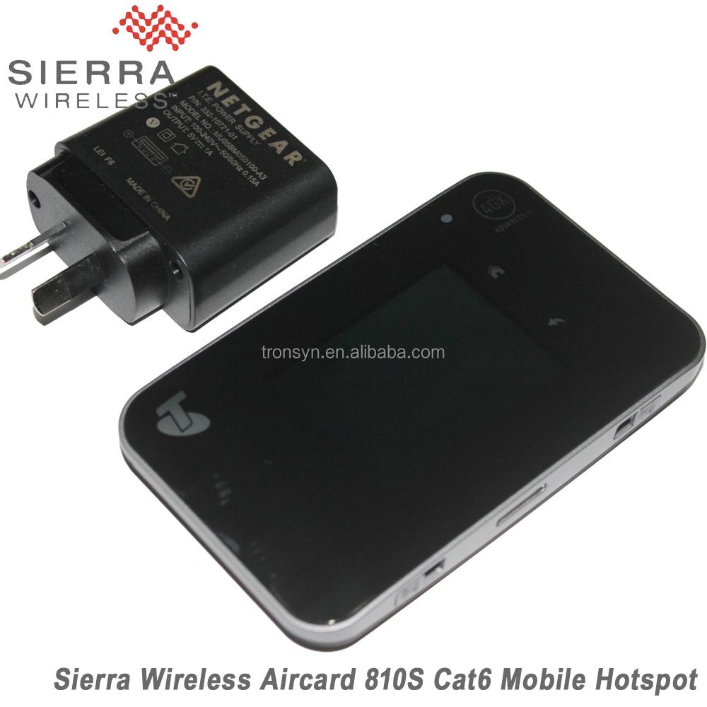 Original Unlocked Netgear 600mbps Aircard Ac810s 4g Lte Cat11 Mobile  Hotspot Support Lte Fdd B1 B3 B7 B8 B28 - Buy Mobile Hotspot,Cat11 Mobile