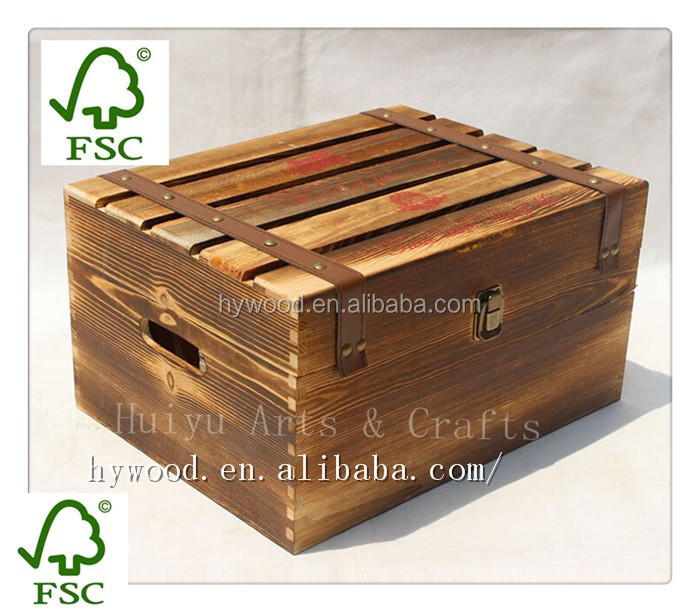 Shandong export supply custom printing unfinished cheap for Where to buy used wine crates