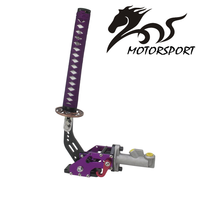 JDM Universal Drifting Hydraulic Handbrake with 15cm Samurai Sword Handle Black