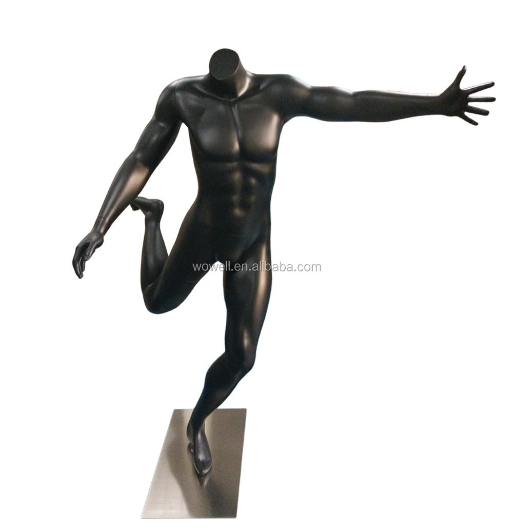 Soccer male mannequin football male inflatable doll Sports male mannequin