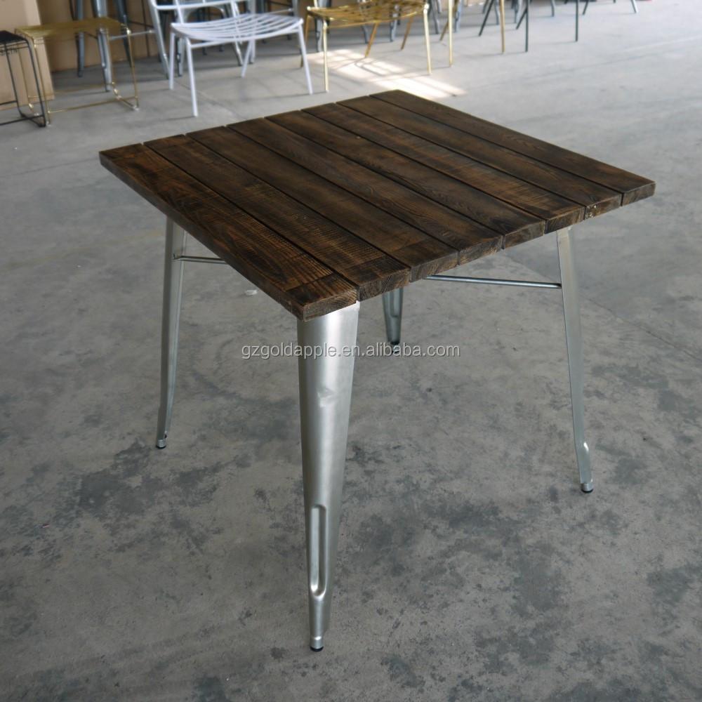 Outdoor Garden Restaurant Dining Tables Furniture Retro