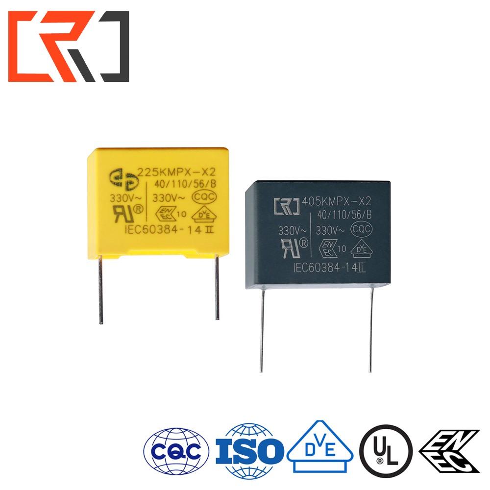 PP Condensatore a Film polipropilene X2 1 microfarad 275 V ecqul Series