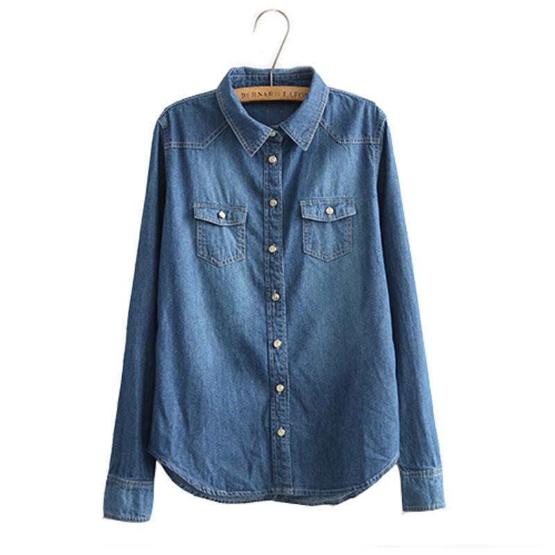 Port & Company LSP10 Women's Long Sleeve Value Denim Shirt. Sold by 3 Sellers + 1. $ - $ $ - $ Bluelans Women's Autumn Fashion Casual Pocket Long Sleeve Button Loose Denim Shirt Dress. Sold by Bluelans. $ - $ Sierra Pacific Ladies Sleeveless Denim Shirt.