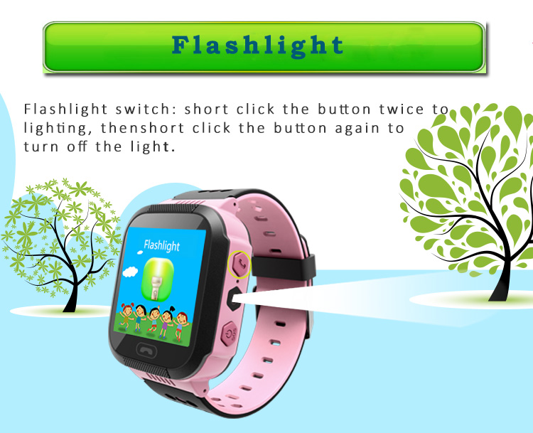 Best Selling GPS WiFi Tracker Kids Baby Children Smart Watch