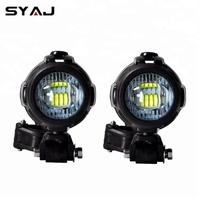 2PCS Motorcycle LED Auxiliary Fog Light Motorcycle Lighting System For BMW R1200gs Adventure LC F800gs