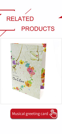Personalized Musical Greeting Cards For Birthday Special Diy Gifts Factory Bulk