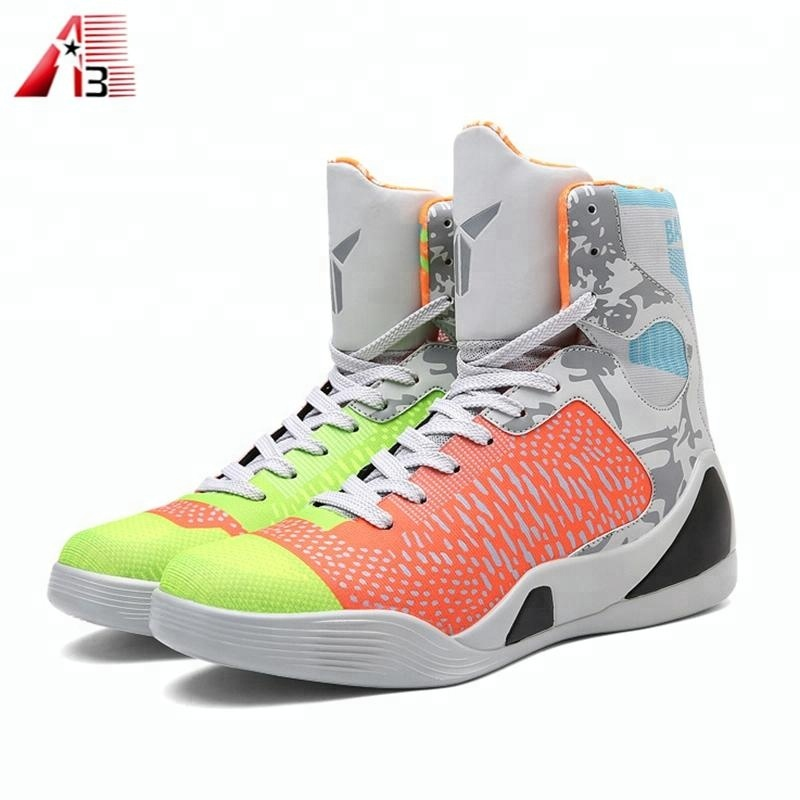 Good Quality Custom Made Fashion High Ankle Basketball Shoes Buy