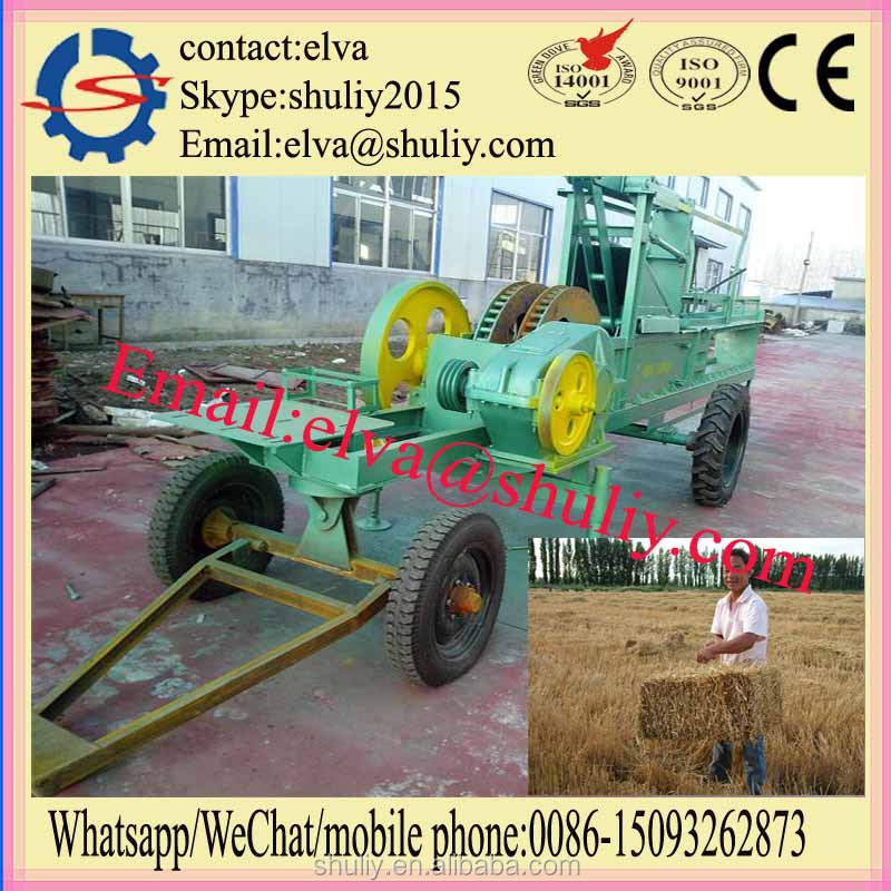 China export the hay and straw baler machine with best sale
