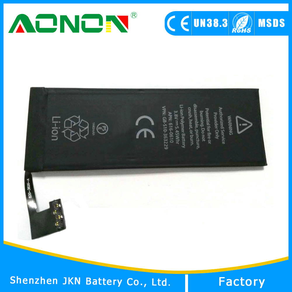 Factory Supply gb/t 18287-2013 Mobile Phone Battery 3.82v 1440mah 2915mah For iPhone 5 /5C/6/6Plus