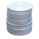 Polyester White Printing Blank Webbing In Rolls For Sublimation Lanyard