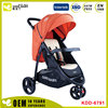 Adjustable portable four wheeled cart baby doll pram stroller