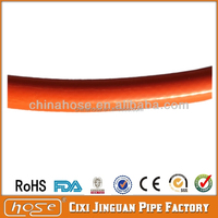 Hot Price!!! ISO 3821 Proved Orange PVC LPG Flexible Gas Hose Pipe For Liquid Propane Gas Cooker Line Household