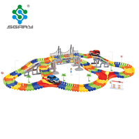 2018 new arrival DIY Slot toys with track