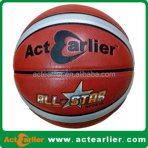 Ball Type and Leather Ball Material Basketball Match Ball