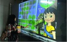 Best!! 50″ touch foil/ Real 2 points transparent interactive Multi touch film for window display