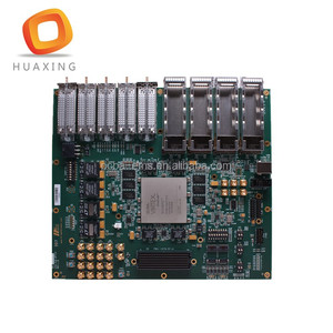 Double sided face recognition pcb circuit board, High Reputation face recognition PCBA manufacturer.