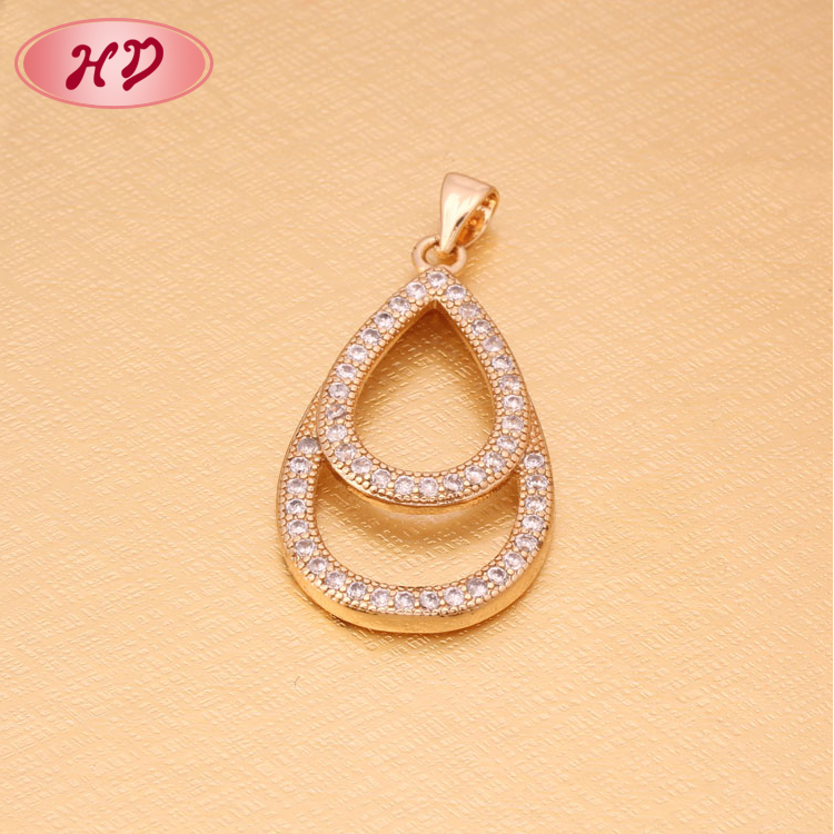 China Wholesale Custom Gold Plated Simple Gold Pendant Design ... 21fdce753445