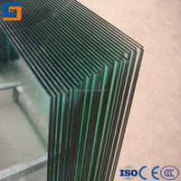 4mm 5mm 6mm 8mm 10mm 12mm Clear Bent / Curved Tempered Glass for Building