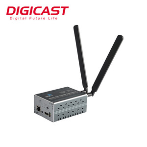 Low Latency Small Size 3G/4G WiFi IPTV Streaming Server H 264 H 265 IPTV  Encoder For Professional Live Broadcasting