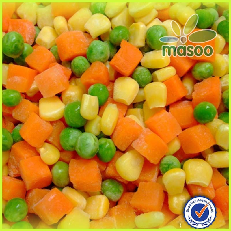 Iqf Frozen Mixed Vegetables Bulk Or Canned Frozen Green Pea With ...