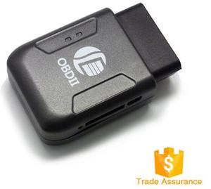 CE RoHS Engine Stop Car Hidden OBD GPS Tracker for Car, OBD2 SIM Card GPS Tracker with Diagnostic Function