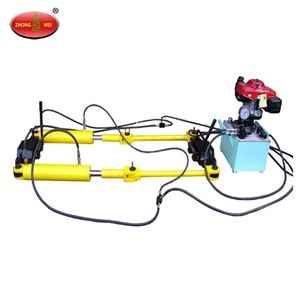 Hot Selling Hydraulic Rail Puller 70ton Rail Tensor With Pump