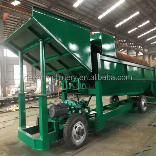 Gold extraction machine and gold refining machine equipment for alluvial wash plant