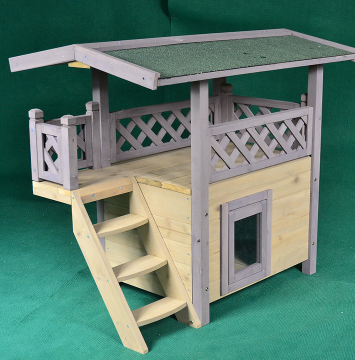 Trade Assurance Indoor Dog House Large Stairs,Cat House - Buy Cat ...