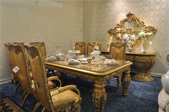 Italian Glass Top Dining Tables And Chairs Set Antique