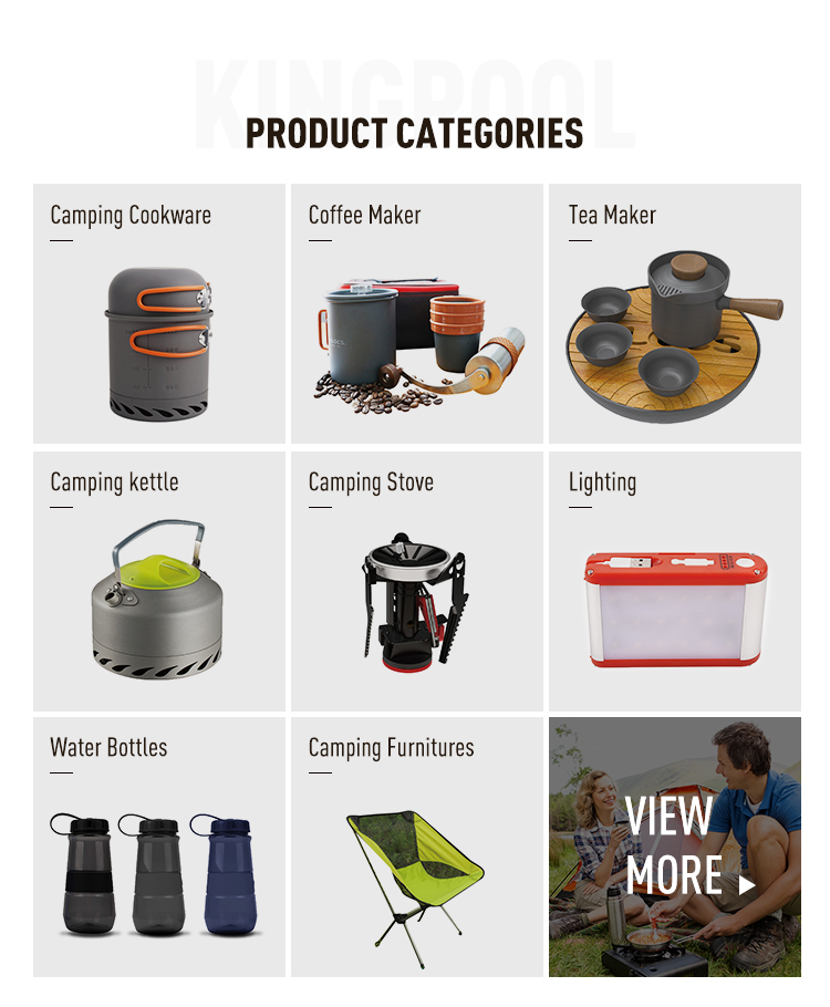 Space saving Easy Carry hiking outdoor travel camping gas cooks portable coffee maker