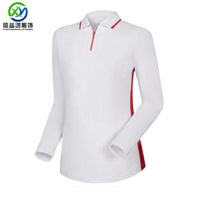 UPF 50 Long sleeve dry fit golf polo t shirt women