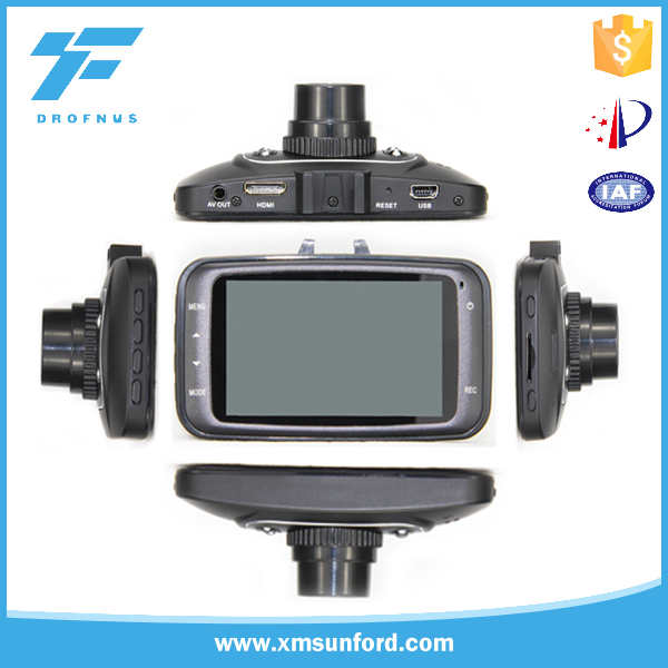 4X digital zoom GPS 256Mb G-Sensor best car camera recorder with led