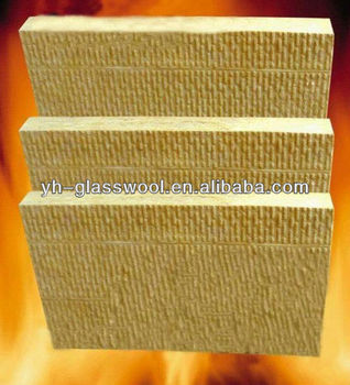 Fireproof Rockwool Panel For House Building Wall Thermal