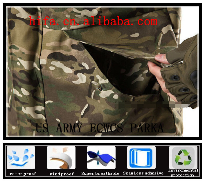 Outdoor fans M65 windbreaker jacket airborne removable liner two piece tactical vests