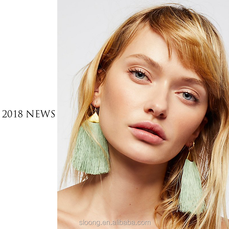 2018 Hot Selling Tassel <strong>Earrings</strong>