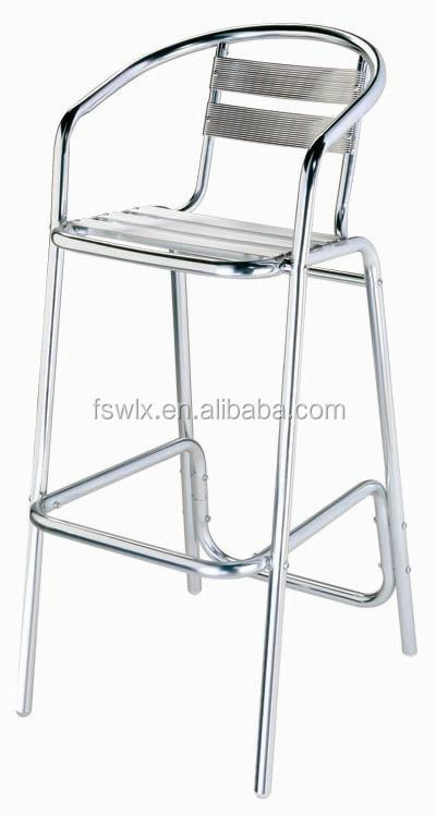 Aluminium Chaise Tabouret De Bar Et Table
