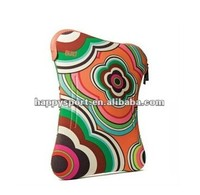 2013 decent and cheap printed Neoprene computer sleeve